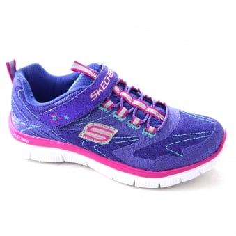 SKECH APPEAL HI SHINE GIRLS TRAINERS
