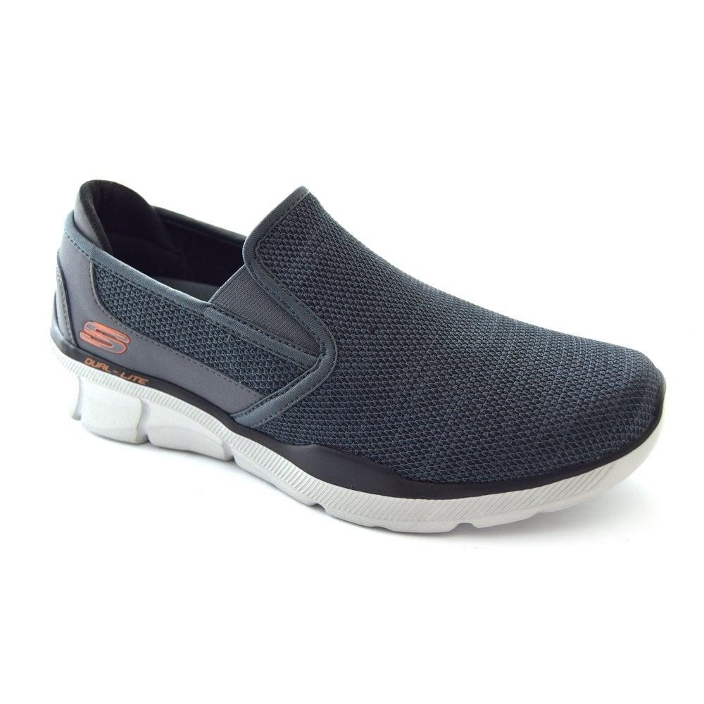 skechers slip on mens sneakers