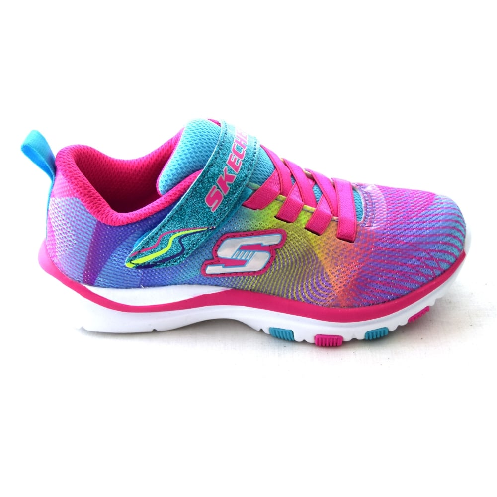 Skechers TRAINER LITE DASH N DAZZLE 814884 GIRLS TRAINER - Girls ... 60610ea62ae9