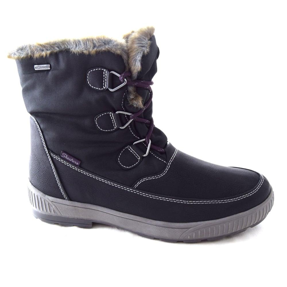 skechers waterproof womens boots Sale