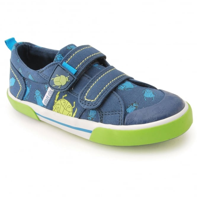 Start-Rite BIG BUG BOYS RIPTAPE CANVAS SHOE