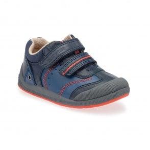 83289440ed12 Clarks SOFTLY TOM BOYS RIPTAPE FIRST SHOES - Boys Footwear from WJ ...
