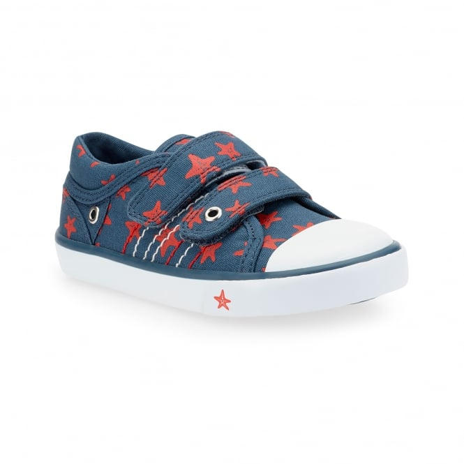 Start-Rite ZIP KIDS RIPTAPE CANVAS SHOE
