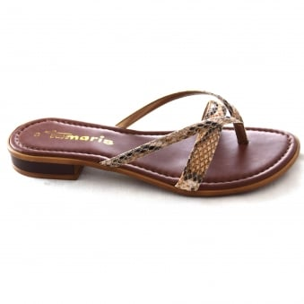 REMI LADIES TOE POST MULE SANDAL