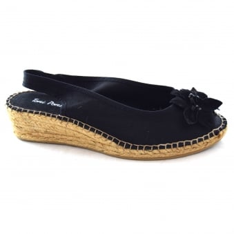 ROCIO LADIES WEDGE ESPADRILLE