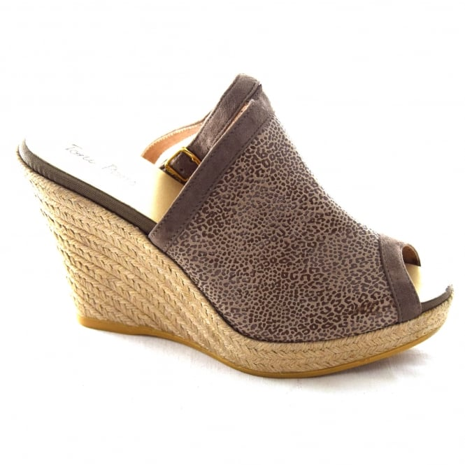 Toni Pons SONIA LADIES OPEN TOE WEDGE ESPADRILLE
