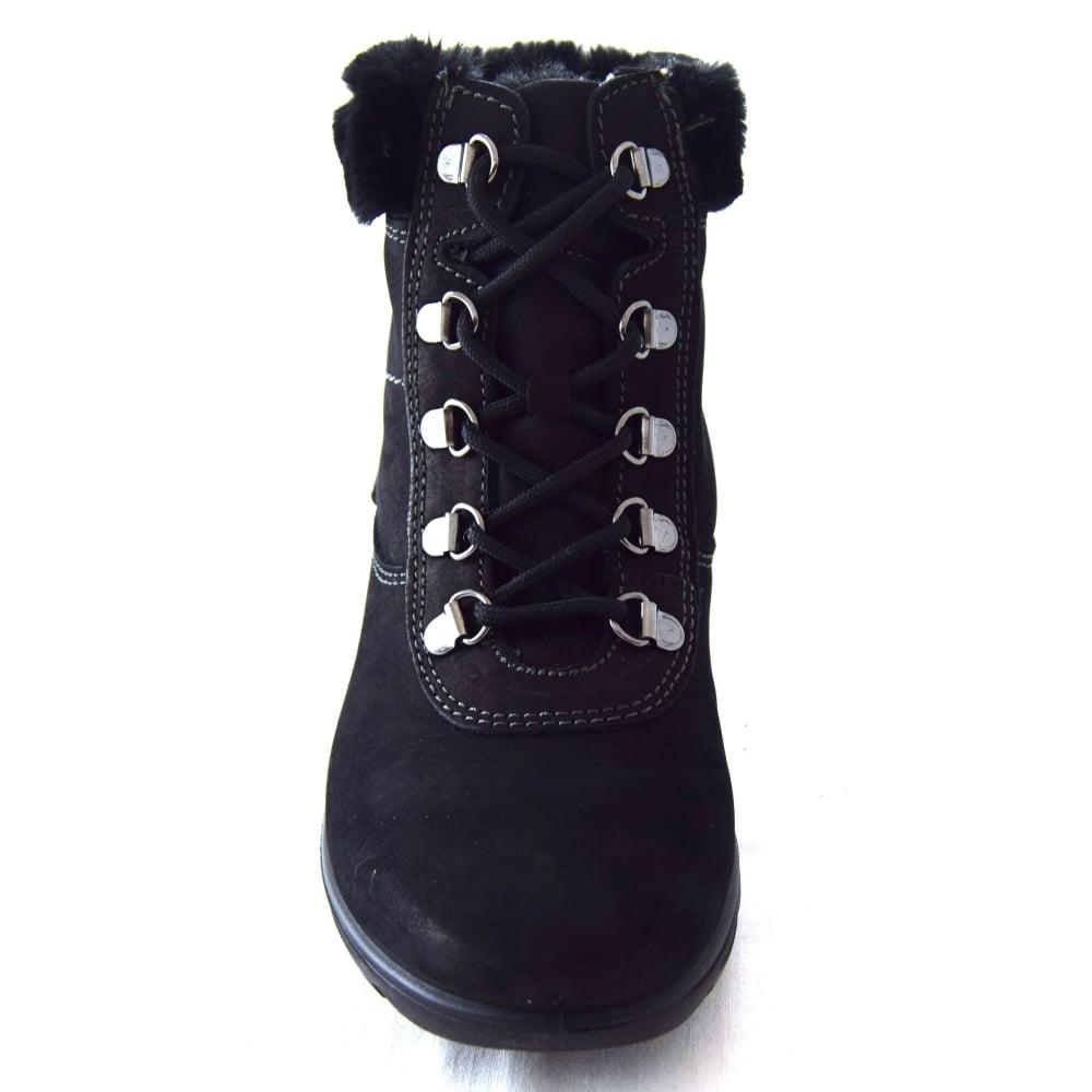 8c46b8cd37c654 Van Dal KISCO LADIES FUR CUFF ANKLE BOOT - Womens Footwear from WJ ...