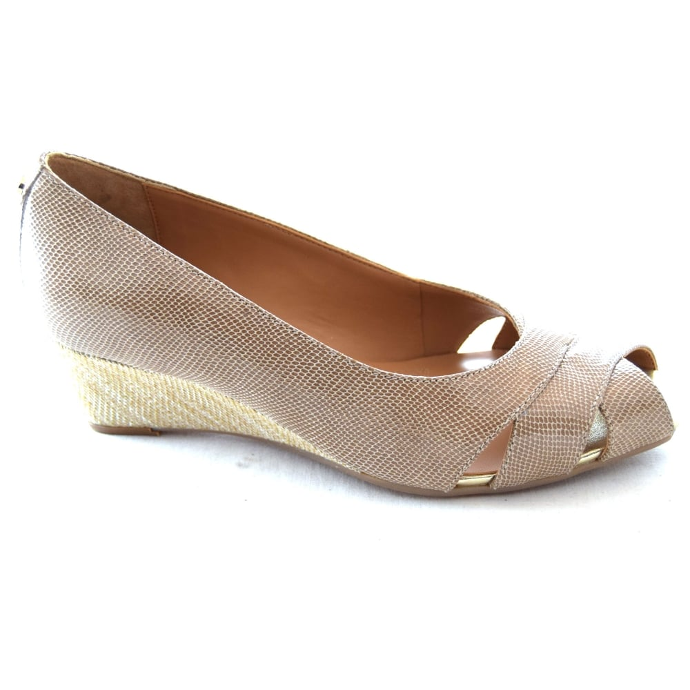bdd0cd2859 Van Dal PAXTON LADIES PEEP-TOE WEDGE SHOE - Womens Footwear from WJ ...