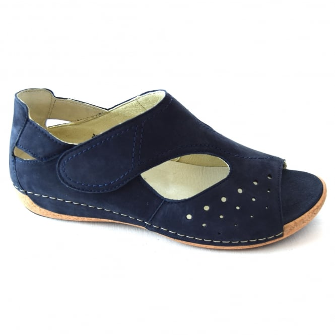 Waldlaufer GERDA LADIES CASUAL PEEP-TOE SHOE